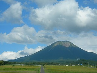 mountain in Tottori Prefecture, Japan