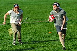 how to play muggle quidditch