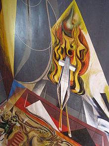 Murales de siqueiros y guerrero wikipedia la - Murales pintados en la pared ...