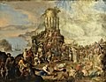 Musée d'art et d'archéologie du Périgord - Scipione Compagno - Décapitation de saint Janvier (de Naples).jpg