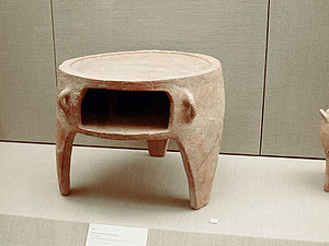 Oven - Ancient Greek portable oven, 17th century BCE