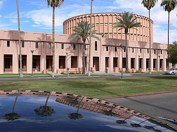 Music Auditorium in ASU Tempe campus