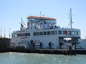 Wightlink - Wight Sky at Yarmouth Harbour