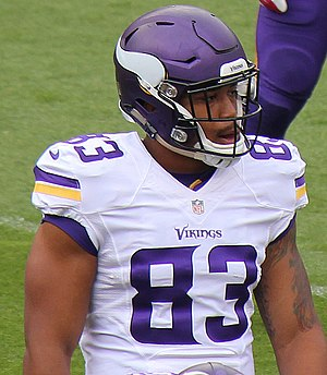 MyCole Pruitt - Pruitt with the Vikings in 2015