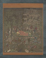 The Death of the Buddha Sakyamuni (Nehan-zu)