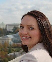 Myroslava Gongadze in Washington.jpg