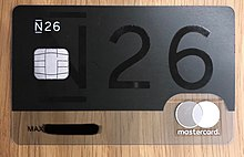Carte Bancaire Black Edition.N26 Banque Wikipedia