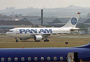 Airbus A310-222 Clipper Miles Standish společnosti PanAm v roce 1989