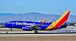 N913WN Southwest Airlines 2008 Boeing 737-7H4 (cn 29840-2536) (32171978821).jpg