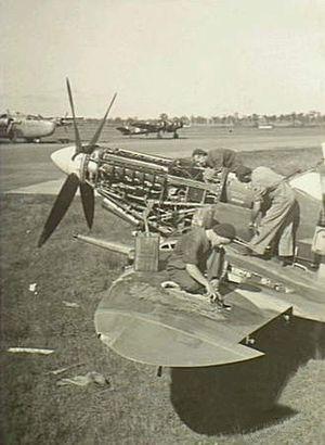No. 3 Aircraft Depot RAAF - Image: NEA0687No.3Aircraft Depot 1945
