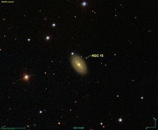 spiral galaxy in the constellation Pegasus