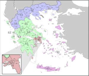 NUTS statistical regions of Greece Wikipedia
