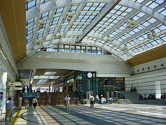 Nagano Station - Concourse of JR station