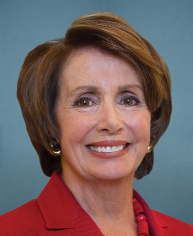 Rep. Nancy Pelosi, D-California