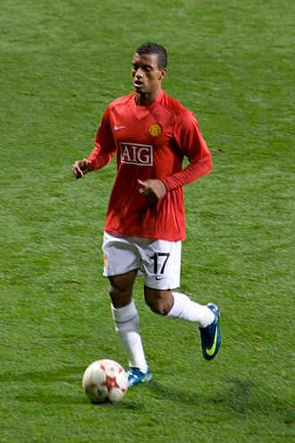 Nani - Nani playing for Manchester United in 2008
