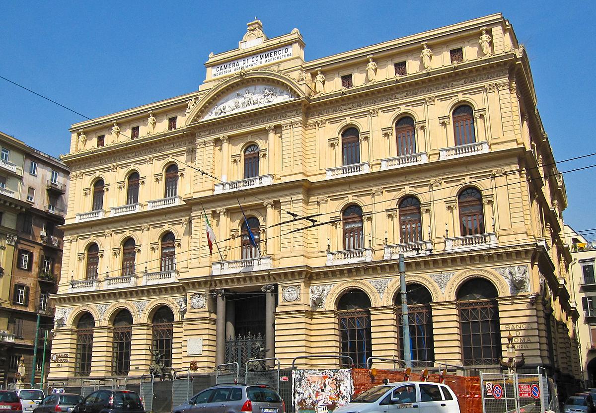Palazzo della borsa napoli wikipedia for Portale camera
