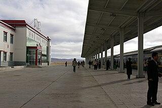 Nagqu railway station