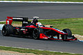 Narain Karthikeyan 2014 Super Formula Motegi Warm-up.jpg