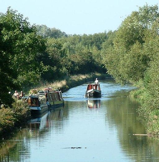 Narrow boats at Watermead Country Park - geograph.org.uk - 48516