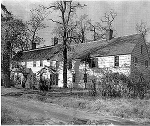 Nathaniel Woodhull - Nathaniel Woodhull's house in Mastic, New York