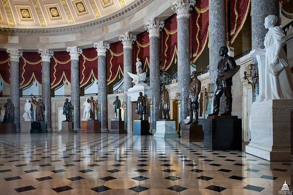National Statuary Hall since July 1864 (28381182666)