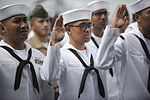 Naturalization ceremony on board the USS Midway Museum 150701-N-RC734-040.jpg