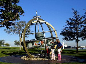 Terry Braunstein (artist) - Navysphere is a Navy memorial located in Long Beach, CA created by Terry Braunstein.