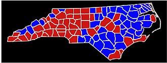 North Carolina gubernatorial election, 1984 - Image: Nc 84