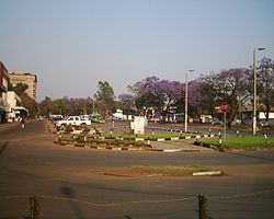 Downtown Ndola