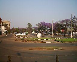 Gatuvy fra Ndola