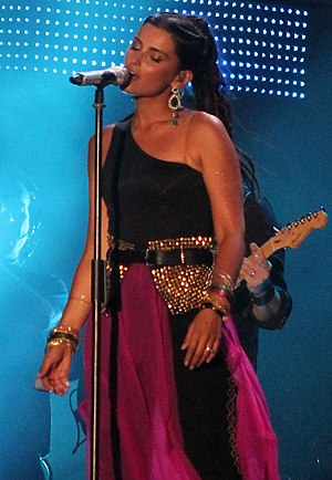 Nelly Furtado - Nelly Furtado during the Isle of MTV in Malta, June 2012
