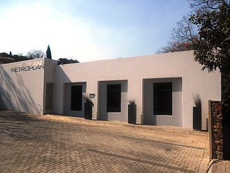 Neomodern - Building in Pretoria with a neomodern architectural design.