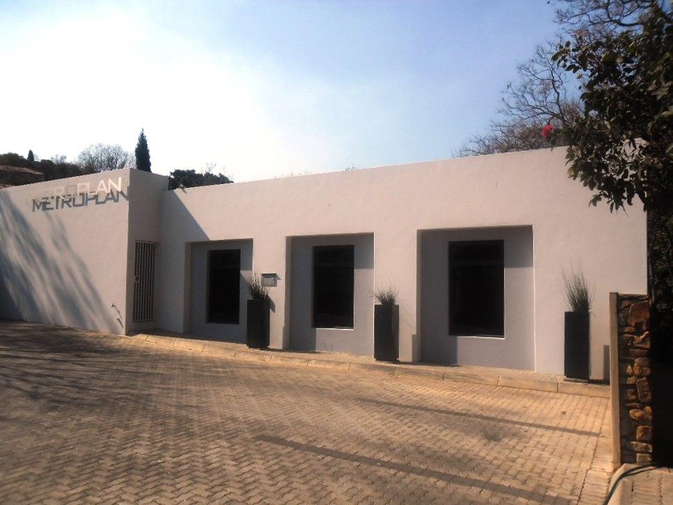Neomodernist facade in Pretoria
