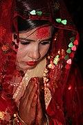 Nepali hindu bride.JPG
