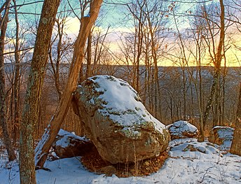 Summit of Mount Yeager, Nescopeck State Park Nescopeck State PArk Perched.jpg