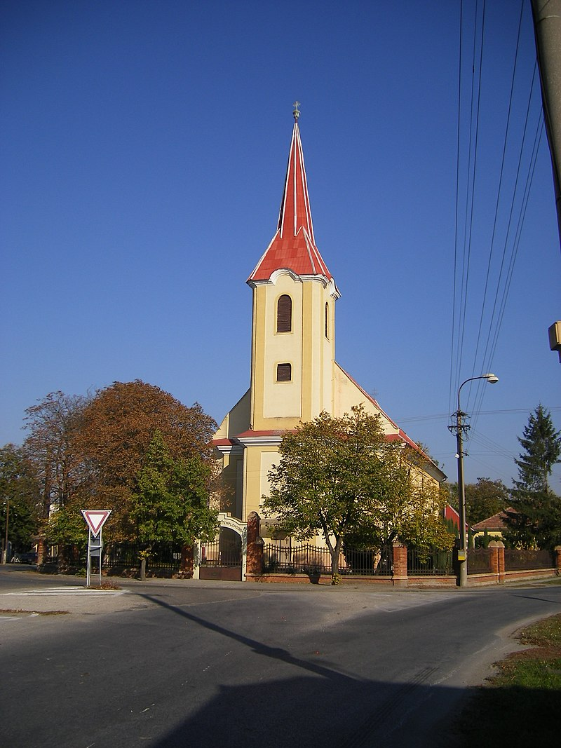 Catholic church in Nesvady