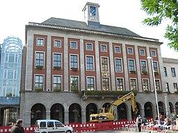 Das Rathaus in Neuss, Aufnahme von 2008