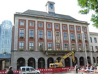 Neuss Place in North Rhine-Westphalia, Germany