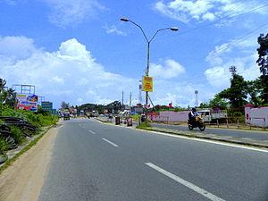 Lal Bahadur Shastri Stadium, Kollam - New flyover Junction near Lal Bahadur Shastri Stadium, Kollam