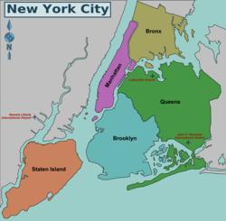 liste des quartiers de new york wikip dia. Black Bedroom Furniture Sets. Home Design Ideas