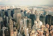 Los rascacielos son un componente principal de la silueta de la ciudad. bb2a75a9fc7