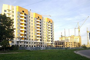 New building on Sihov (Lvov) 10-2012 - panoramio.jpg