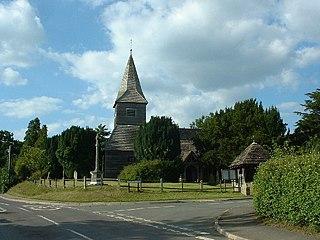 Newdigate village and civil parish in the Mole Valley borough of Surrey, England
