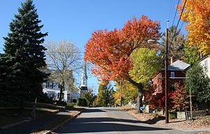 Newfields, New Hampshire - Image: Newfields nh swamscott street