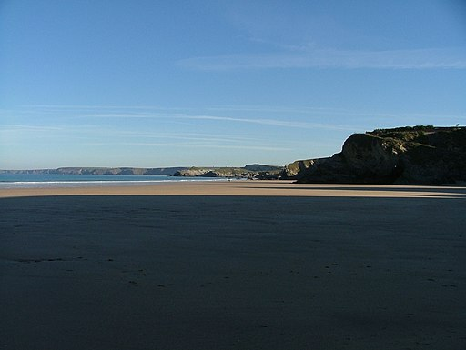 Newquay beach - panoramio