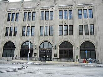 Detroit Free Press - Free Press offices 1998–2014
