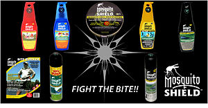 Mosquito Shield product lineup insect repellen...
