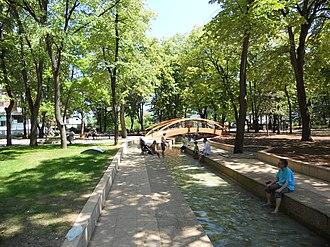 Niška Banja - Public channel of thermal water