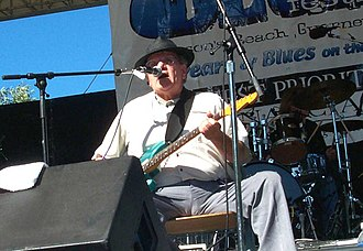 Nick Gravenites - Gravenites at the Russian River Jazz and Blues Festival in Guerneville, California, 2006