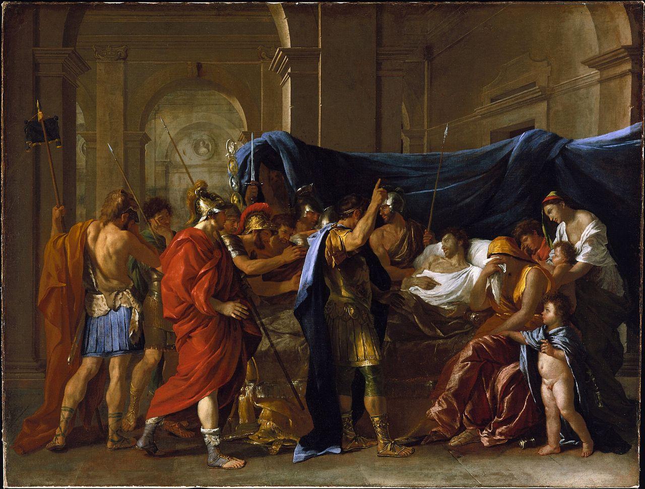 File nicolas poussin la mort de for Define mural art